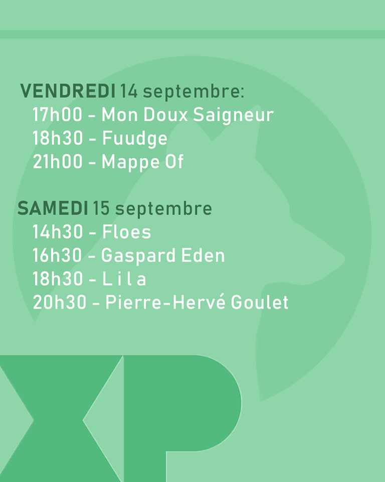 Concerts during St-Roch XP