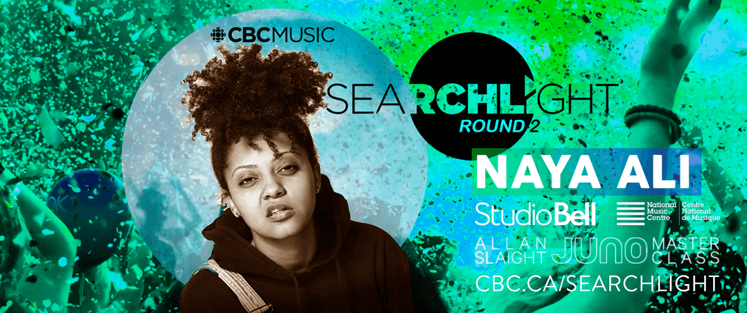 Naya Ali dans le Top 100 du CBC Music Searchlight 2020