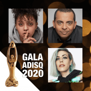 Our artists at the Gala ADISQ 2020
